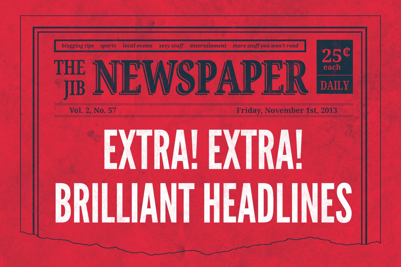 How to Write Brilliant Blog Headlines
