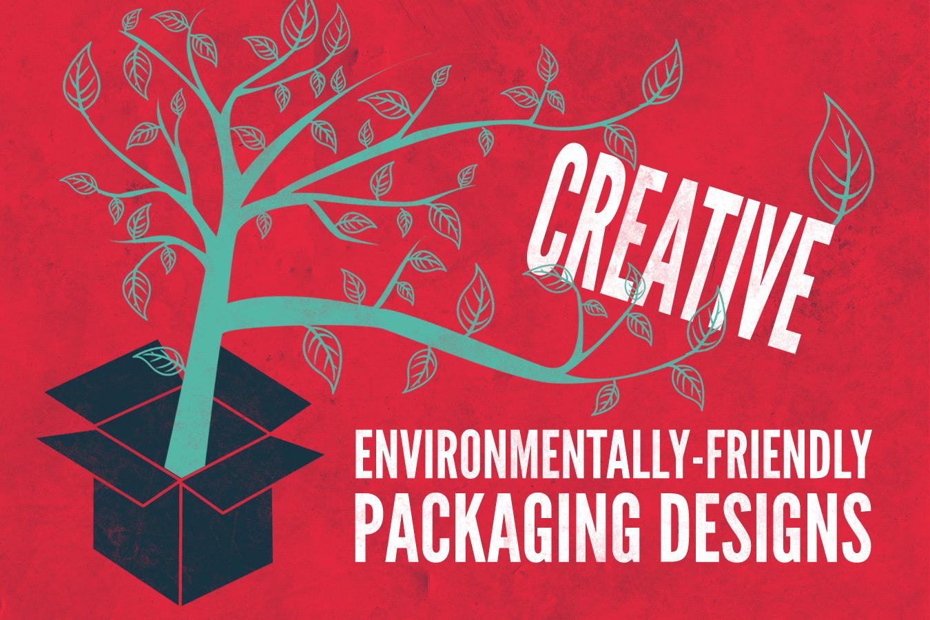 Creative Environmentally-friendly packaging designs on the Jib blog