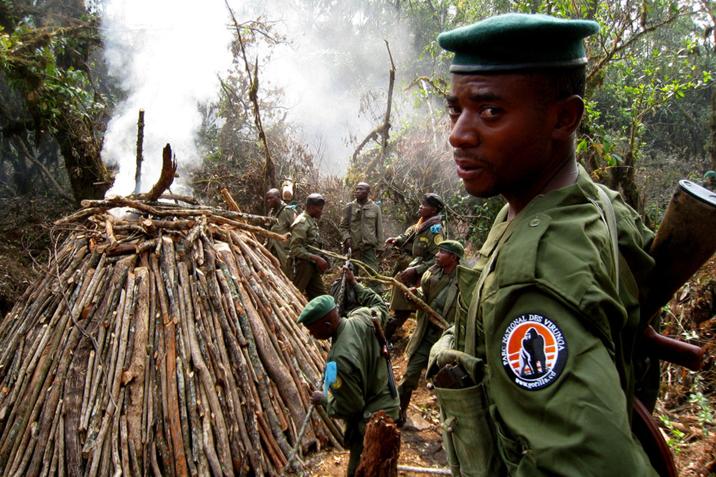 Virunga National Park Ranger
