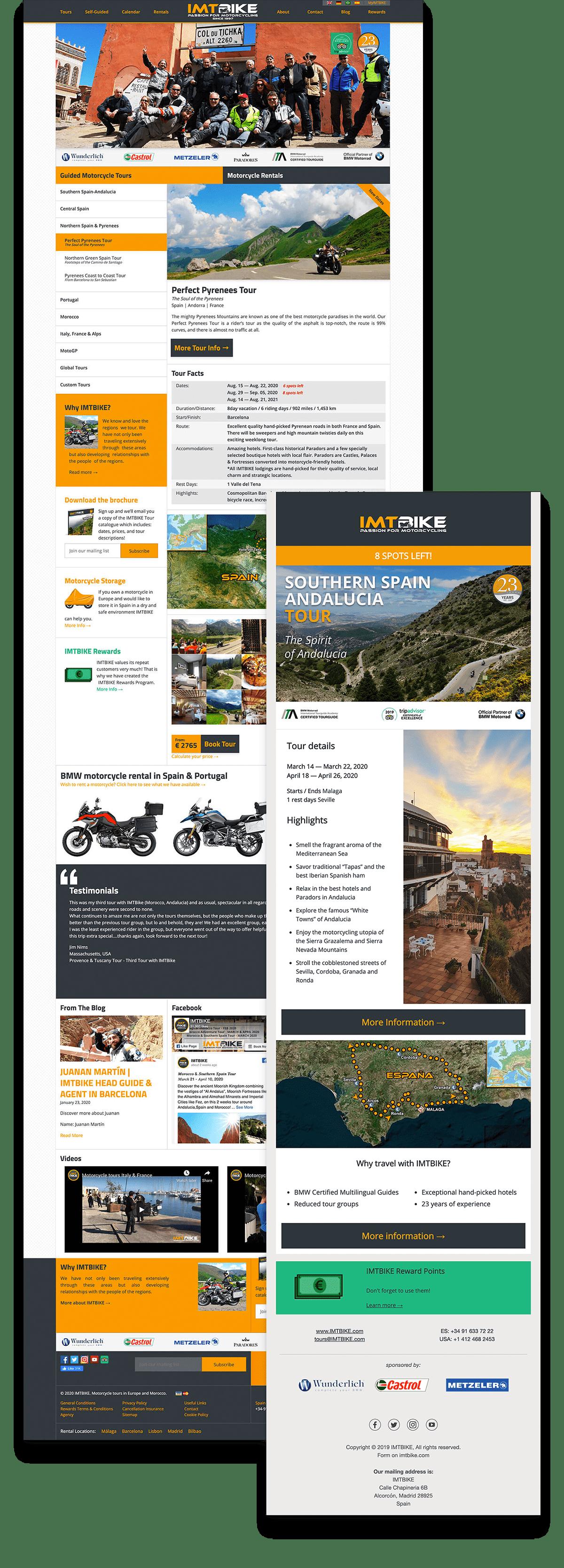IMTBIKE Website