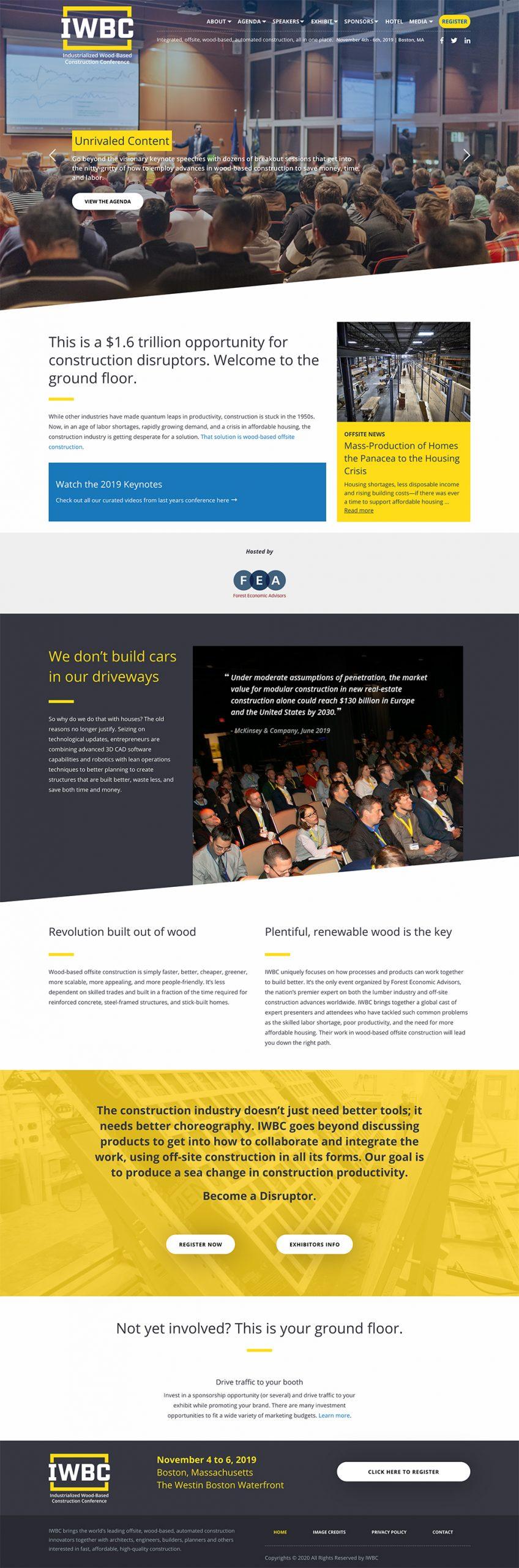 IWBC Website